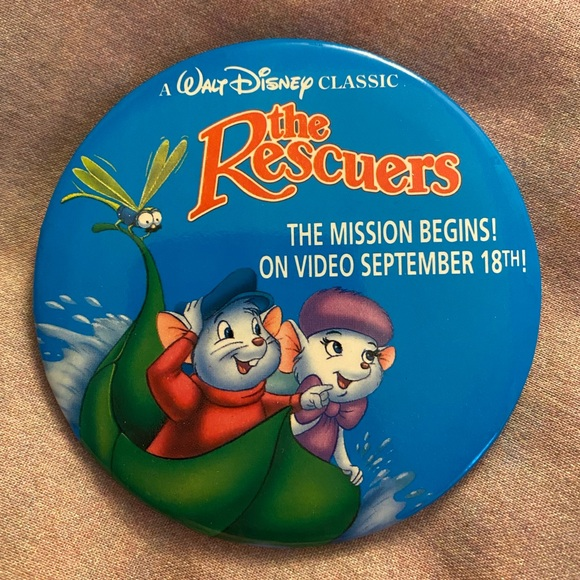"""Disney """"The Rescuers"""" 3-inch pin"""